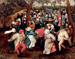 Pieter Brueghel II, Wedding