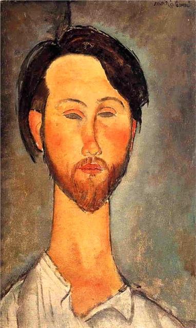 Amedeo Modigliani Portrait de Zborowski