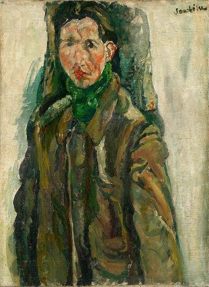 Chaïm Soutine Autoportrait au rideau