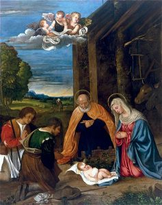 Tiziano, The Adoration of the Shepherds