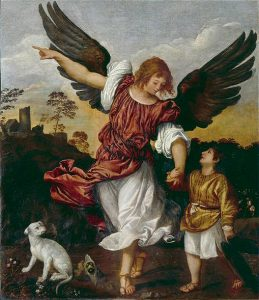 Tiziano, Tobias and the Angel