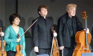 Mihaela Martin, Timothy Ridout, Frans Helmerson