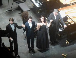 David Fray, Emmanuel Christien, Audrey Vigoureux, Jacques Rouvier