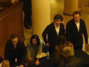 Belcea Quartet, signing session