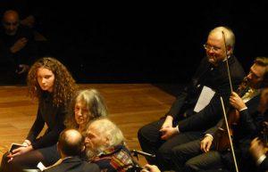 Martha Argerich - Ivry Gitlis and his grand daughter - Nicholas Angelich - Renaud Capuçon