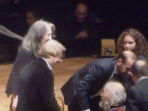 Martha Argerich - Sergei Nakariakov - Ivry Gitlis