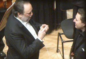Riccardo Chailly, Maxim Vengerov