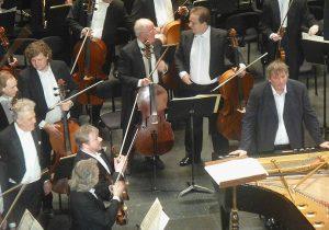 Vassily Sinaisky, Boris Berezovsky, Orchestre Philharmonique de Saint-Pétersbourg