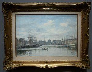 Eugene Boudin - Bassin du Commerce, Le Havre