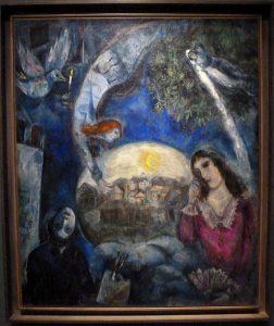 Marc Chagall - Autour d'elle