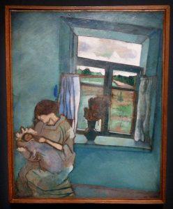 Marc Chagall - Bella et Ida à la fenêtre