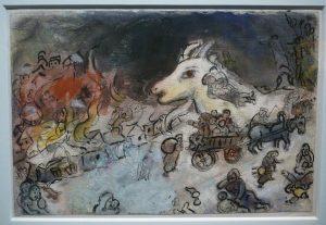Marc Chagall - Esquisse pour La Guerre