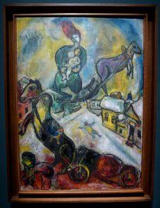 Marc Chagall - La Guerre