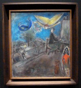 Marc Chagall - Paysage (fait à Cranberry Lake)
