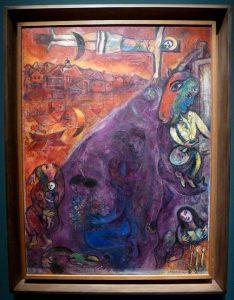 Marc Chagall - Résurrection au bord du fleuve