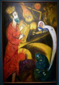 Marc Chagall - Le Roi David