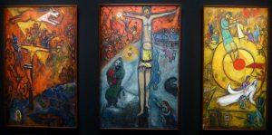 Marc Chagall - Triptyque : Résistance, Résurrection, Libération