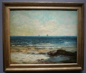 Gustave Courbet - Bords de mer, Palavas