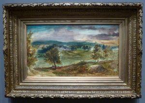 Eugène Delacroix - Paysage à Champrosay