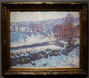Armand Guillaumin - Paysage de neige, Crozant