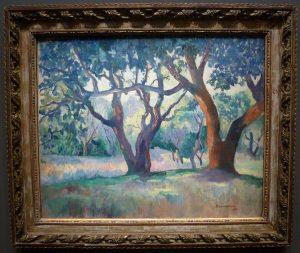 Henri Manguin - Les grands chênes-lièges, Villa Demiere