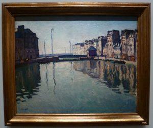 Albert Marquet - Le bassin du Roy, Le Havre