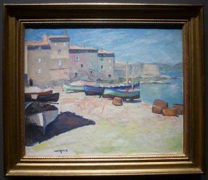 Albert Marquet - Port de la Ponche, Saint-Tropez