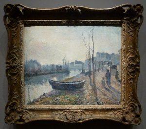 Camille Pissaro - Quai du Pothuis, bords de l'Oise