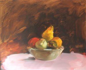 Fruits dans une jatte
