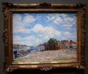 Alfred Sisley - Le Loing à Saint-Mammès
