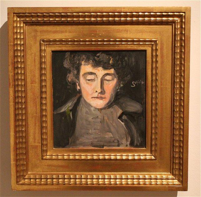 Egon Schiele, mère de l'artiste