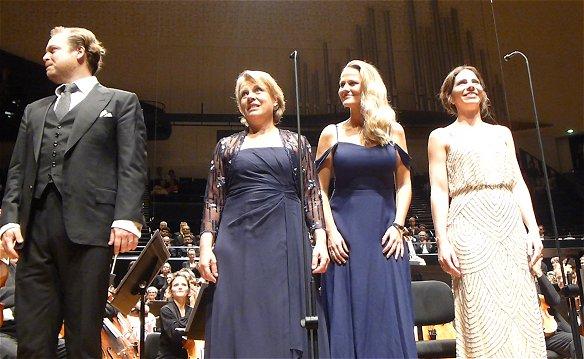 Andrew Staples, Bernarda Fink, Mari Eriksmoen, Hanna-Elisabeth Müller