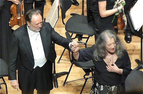 Riccardo Chailly, Martha Argerich